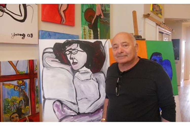 And He Paints! Burt Young Beyond the Big Screen