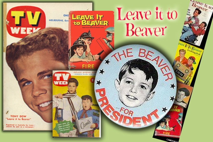 Some LEAVE IT TO BEAVER Gems from the Past: From Toys to Teen Mags!