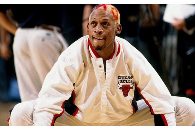Tempers Flare between Frank Brickowski, Dennis Rodman and the 1996 Bulls!