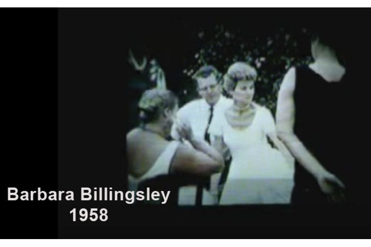 Barbara Billingsley (JUNE CLEAVER!) in a Candid Video: Backyard Picnic from 1958!