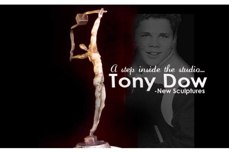 NEW SCULPTURES...Tony Dow: A Step Inside his Topanga Sculpture Studio!