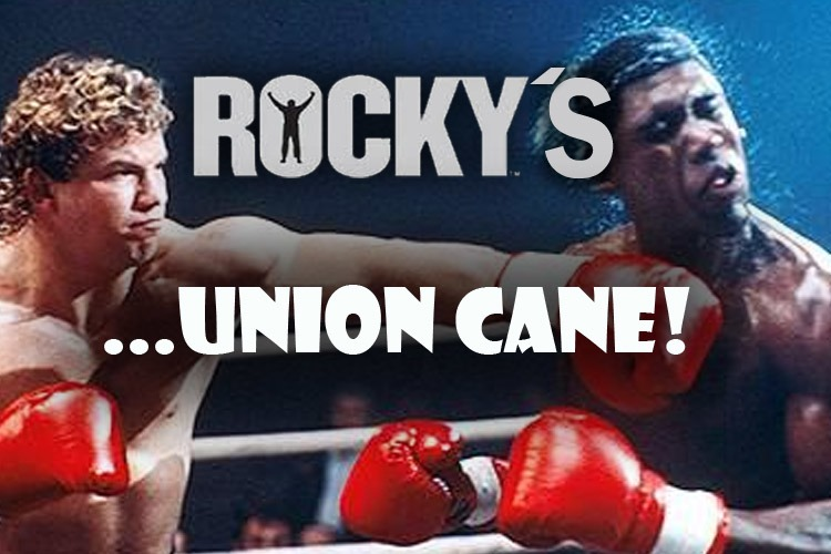 The ROCKY Film Series: Union Cane from Rocky V!