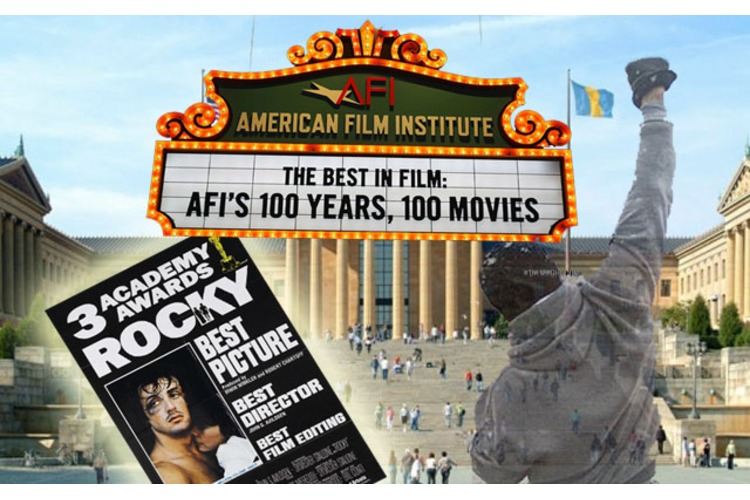 ROCKY Makes the #4 Spot on the American Film Institutes (AFI) Top 100!