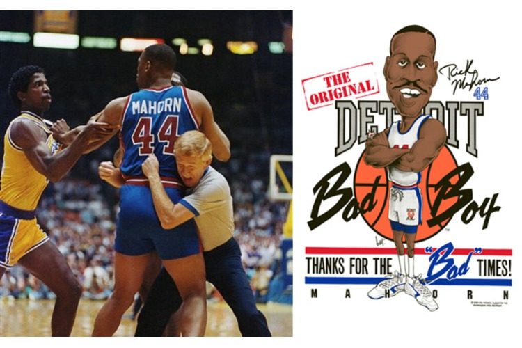 Checking in on the BAD BOYS from the Detroit Pistons! Rodman, Salley *BOOM*!!