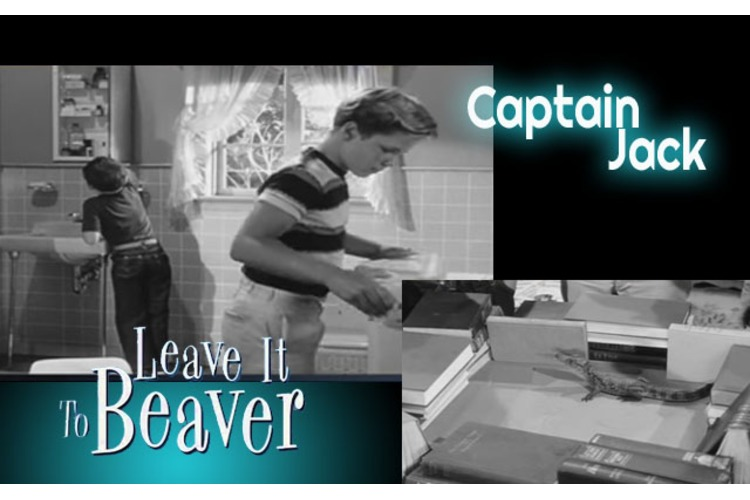 "Leave it to Beaver: Was ""Captain Jack"" the First show to actually Show a Toilet? Well, sort of..."