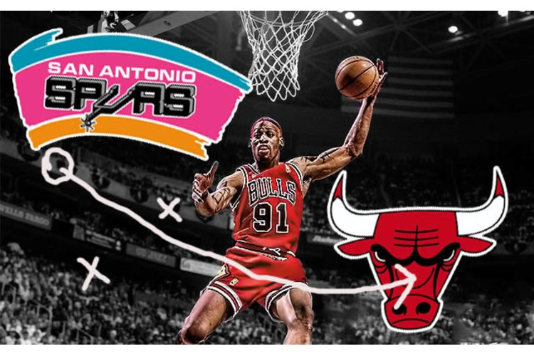 The mid 90s Chicago Bulls and their Rise to DOMINANCE!