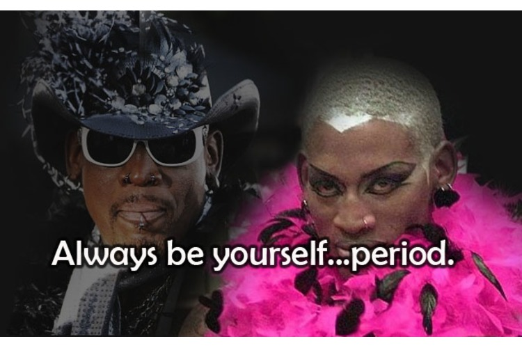 A Look into Embracing Self-Identity with DENNIS RODMAN!