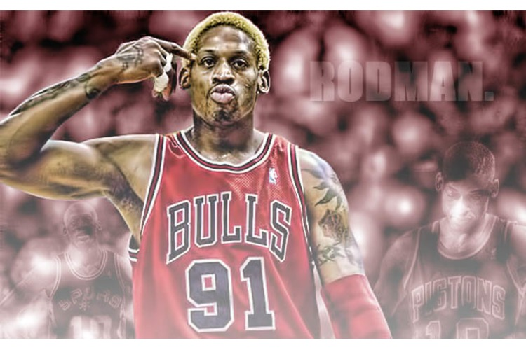 DENNIS RODMAN: NBA Accomplishments List-Awards and Records