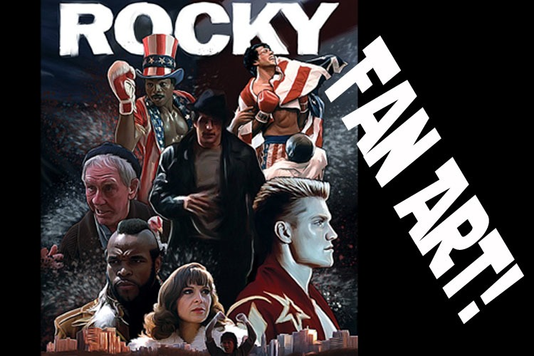 Fan Art from the ROCKY Film series! Awesome stuff here!