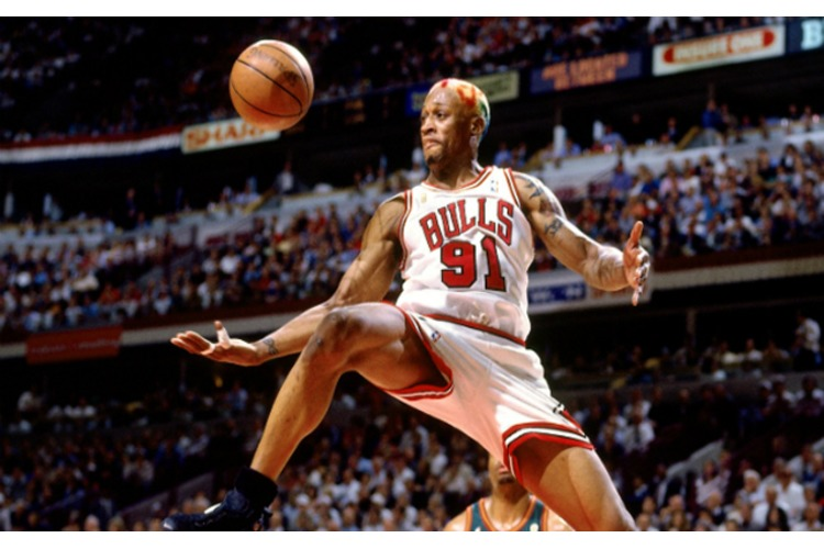 The Amazing Story behind DENNIS RODMAN: Detroit's 2nd Round Pick in 1986!