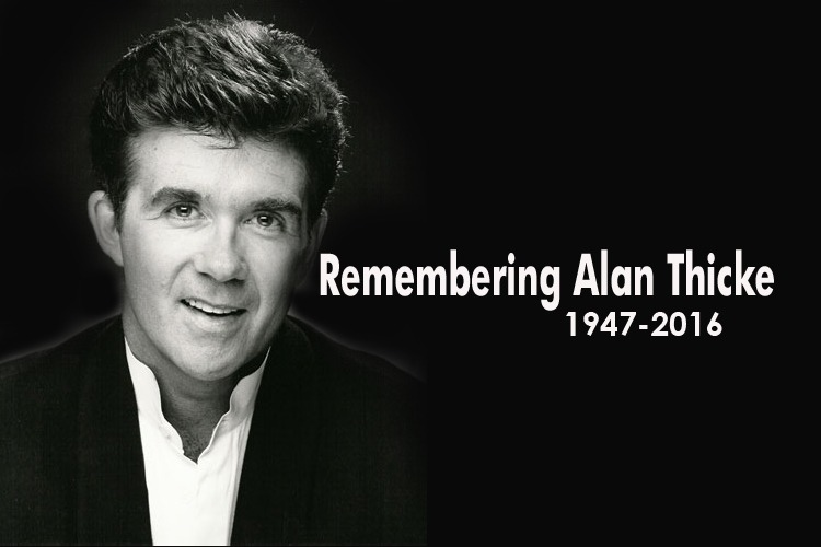 "Remembering ALAN THICKE: More than a Great ""TV DAD""..."