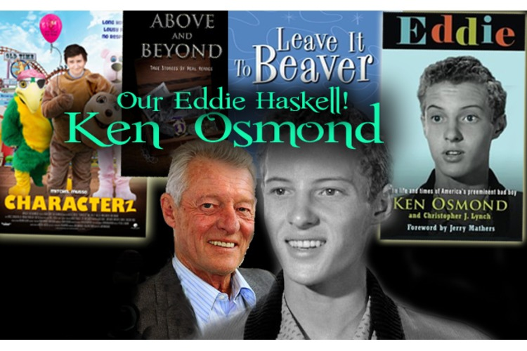 Catching up with KEN OSMOND:  TV's Eddie Haskell!!  Gee Mrs. Cleaver...